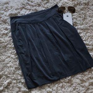Hugo Boss Pleated Rough Hem Skirt